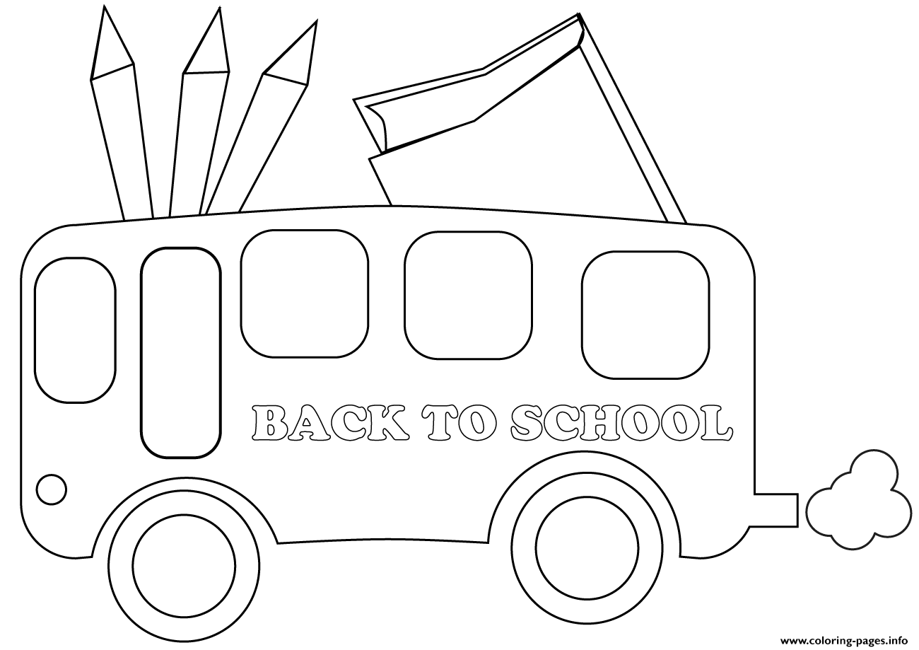 photo relating to Bus Printable referred to as Again In the direction of Faculty Bus Coloring Webpages Printable