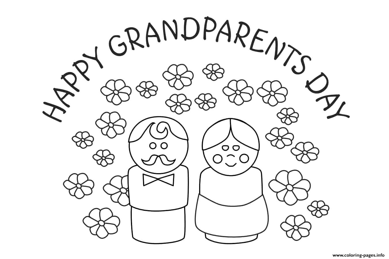 - Grandparents Day Printables Cards Coloring Pages Printable