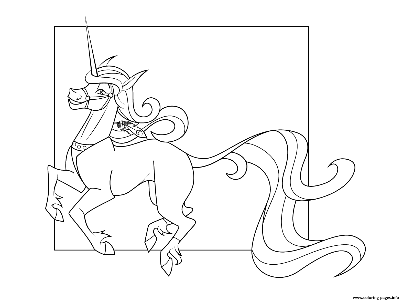 unicorn 3 coloring pages printable