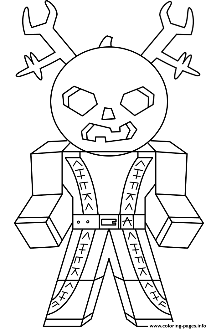 Roblox Studio Angry Player coloring pages