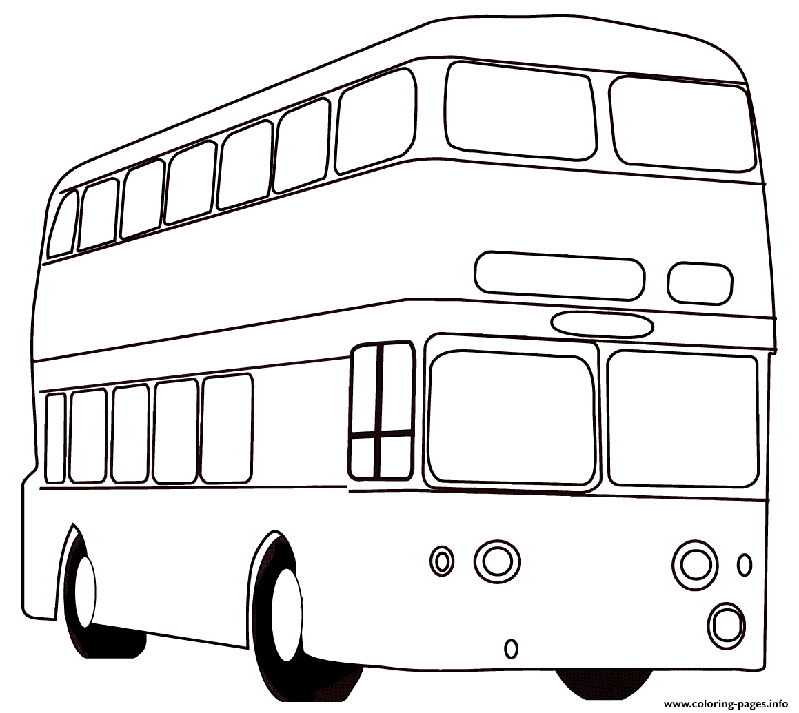 London Bus Coloring Page - Free Great Britain Coloring Pages ... | 1035x1159