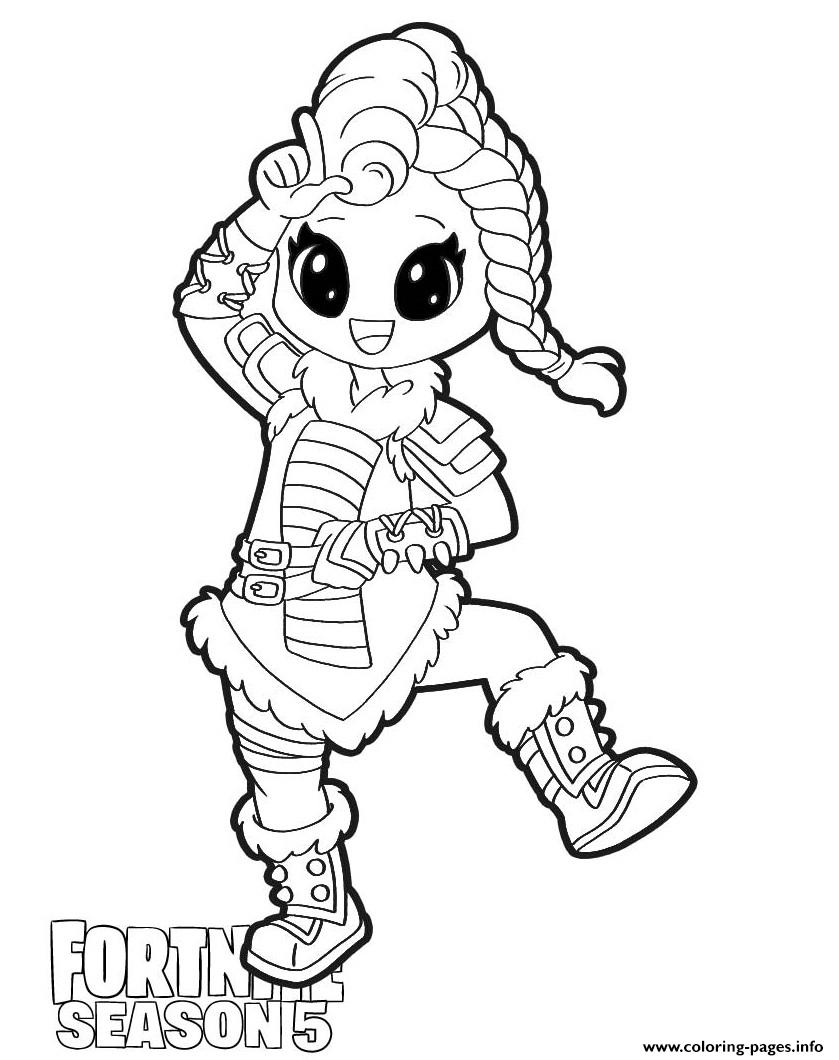 Huntress Fortnite Season 5 Coloring Pages Printable
