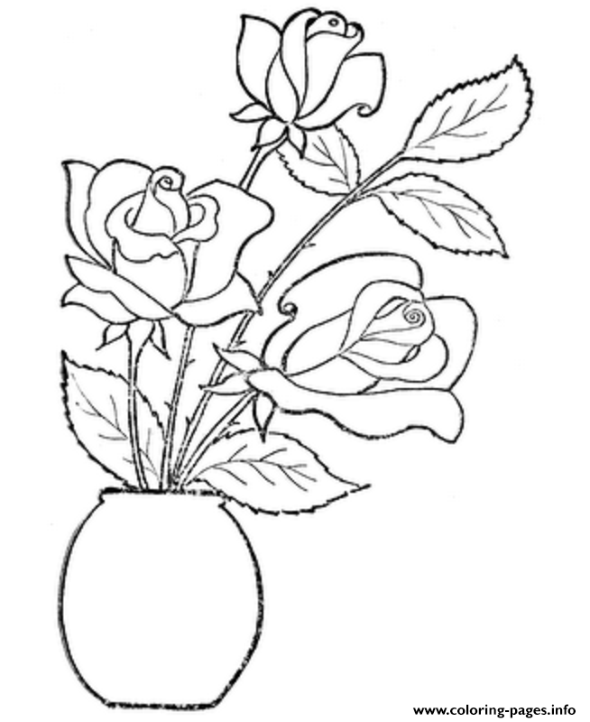 Vase & Pottery Coloring Page | Adult coloring pages, Coloring ... | 800x654