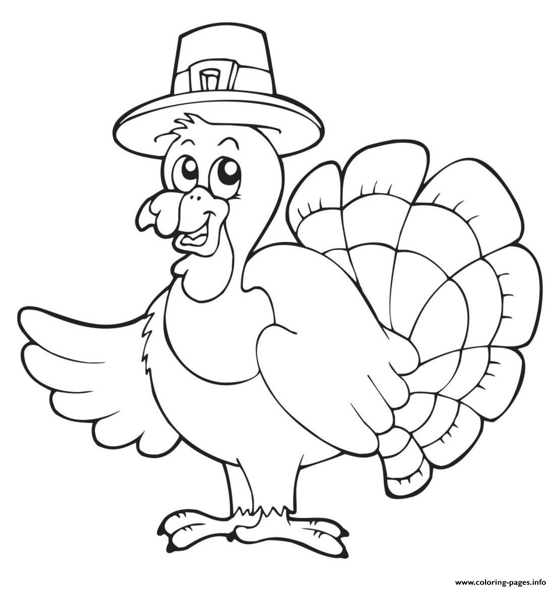 30+ Thanksgiving Coloring Pages - Free Printables | 1168x1099