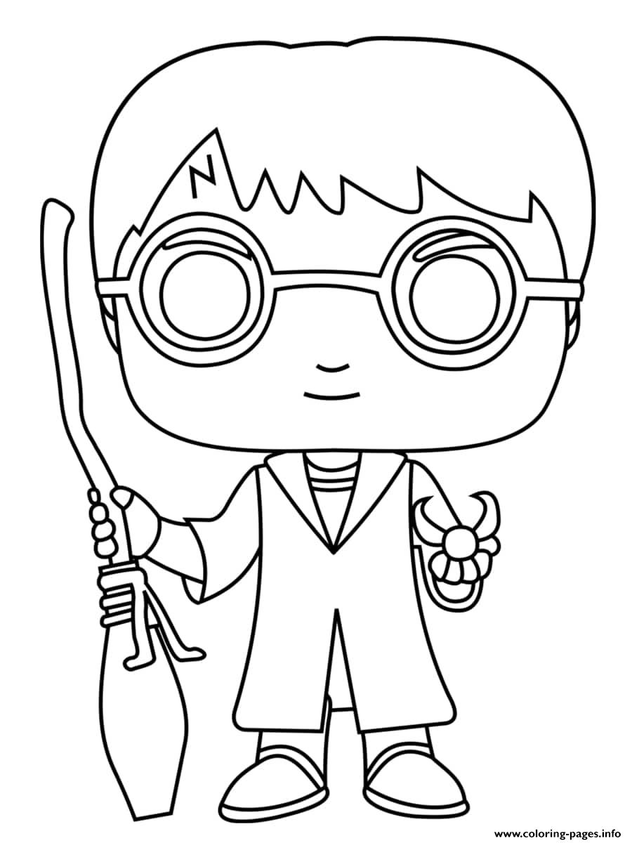 Harry Potter Balai Coloring Pages Printable