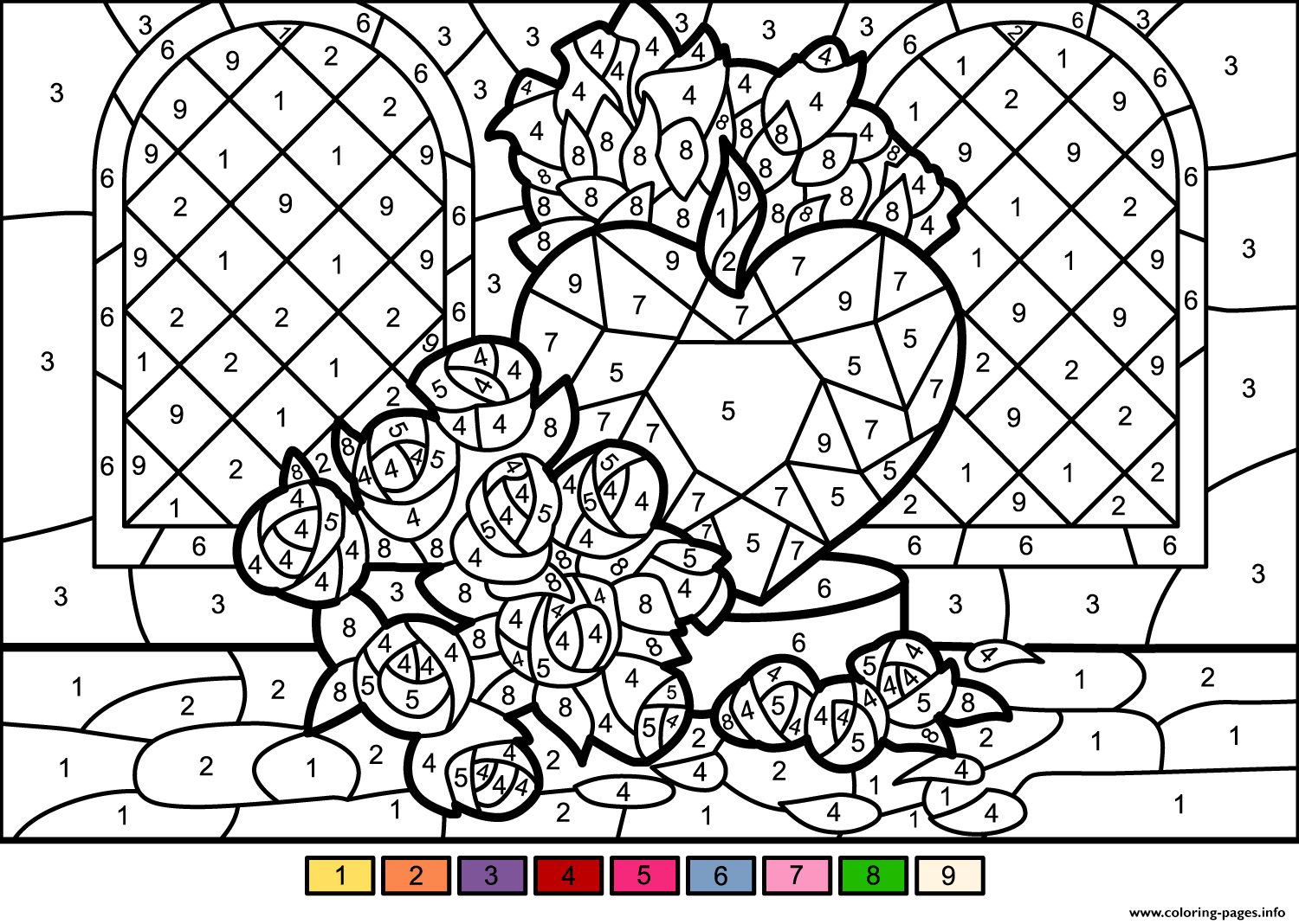 It's just a graphic of Printable Number Coloring Pages within phone number