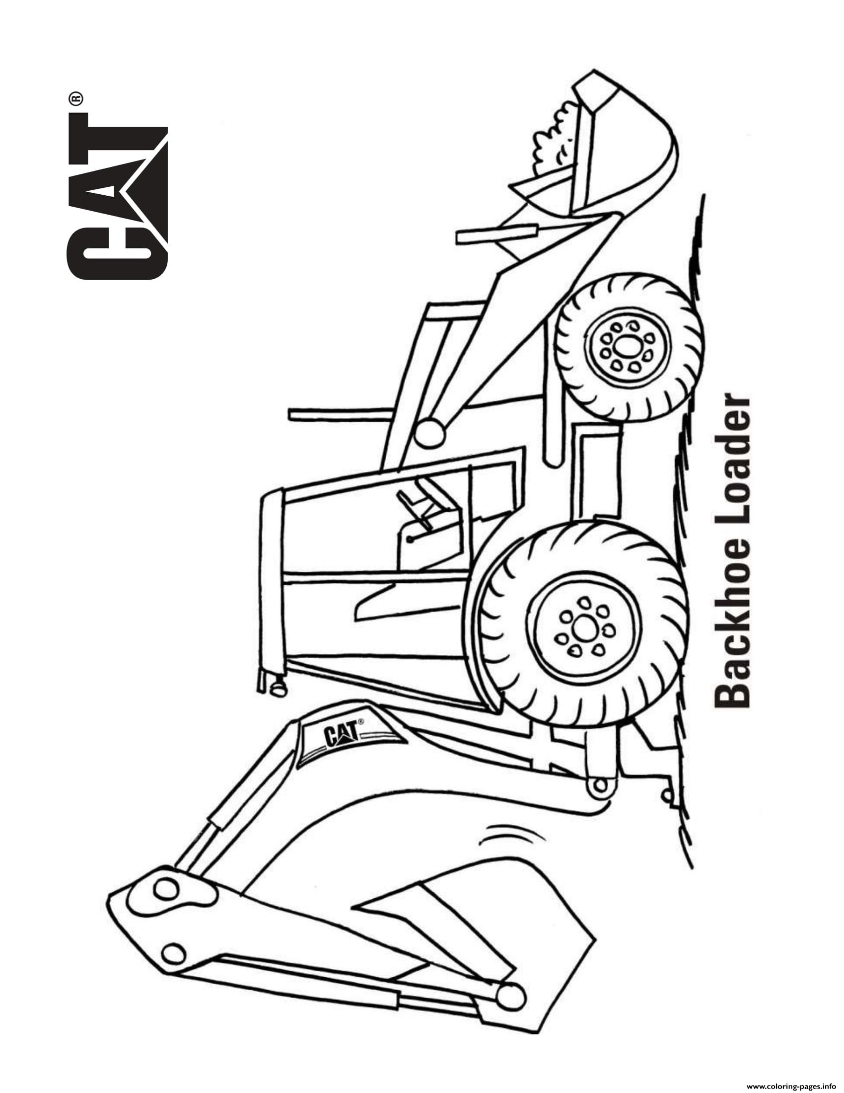 coloring book truck pages - photo#41