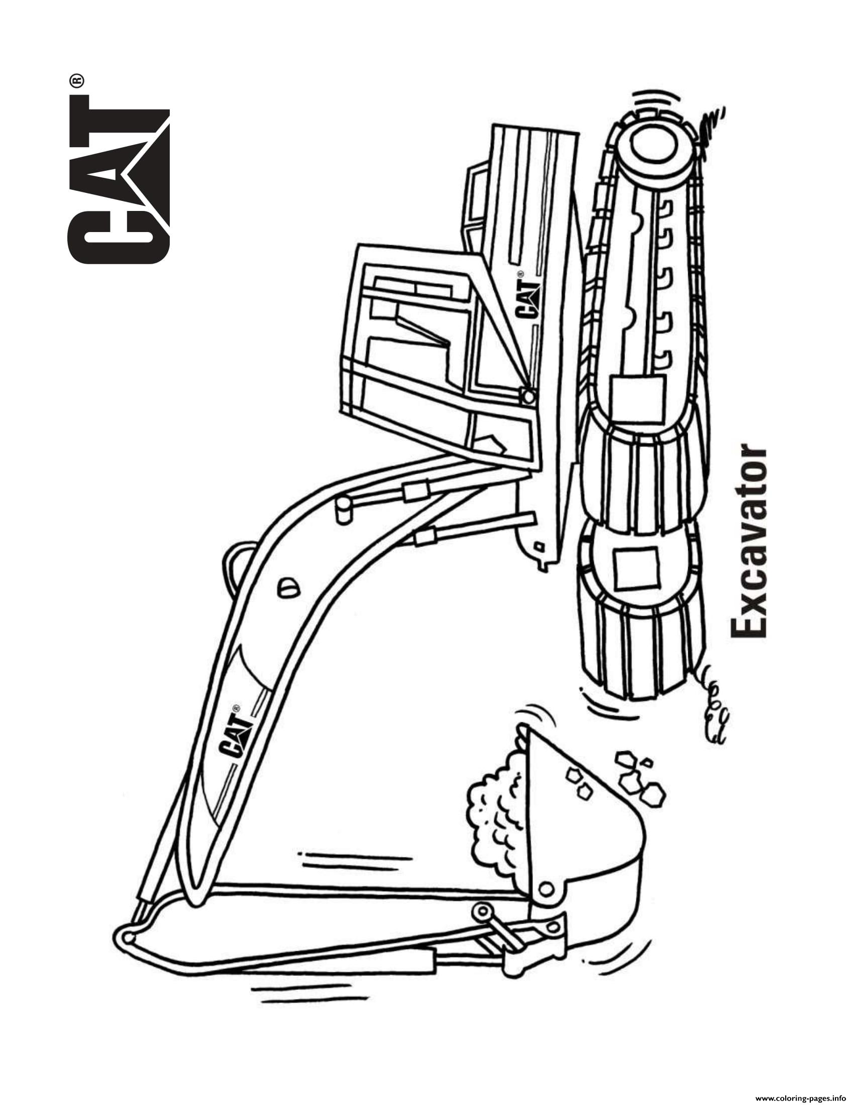 coloring book truck pages - photo#47