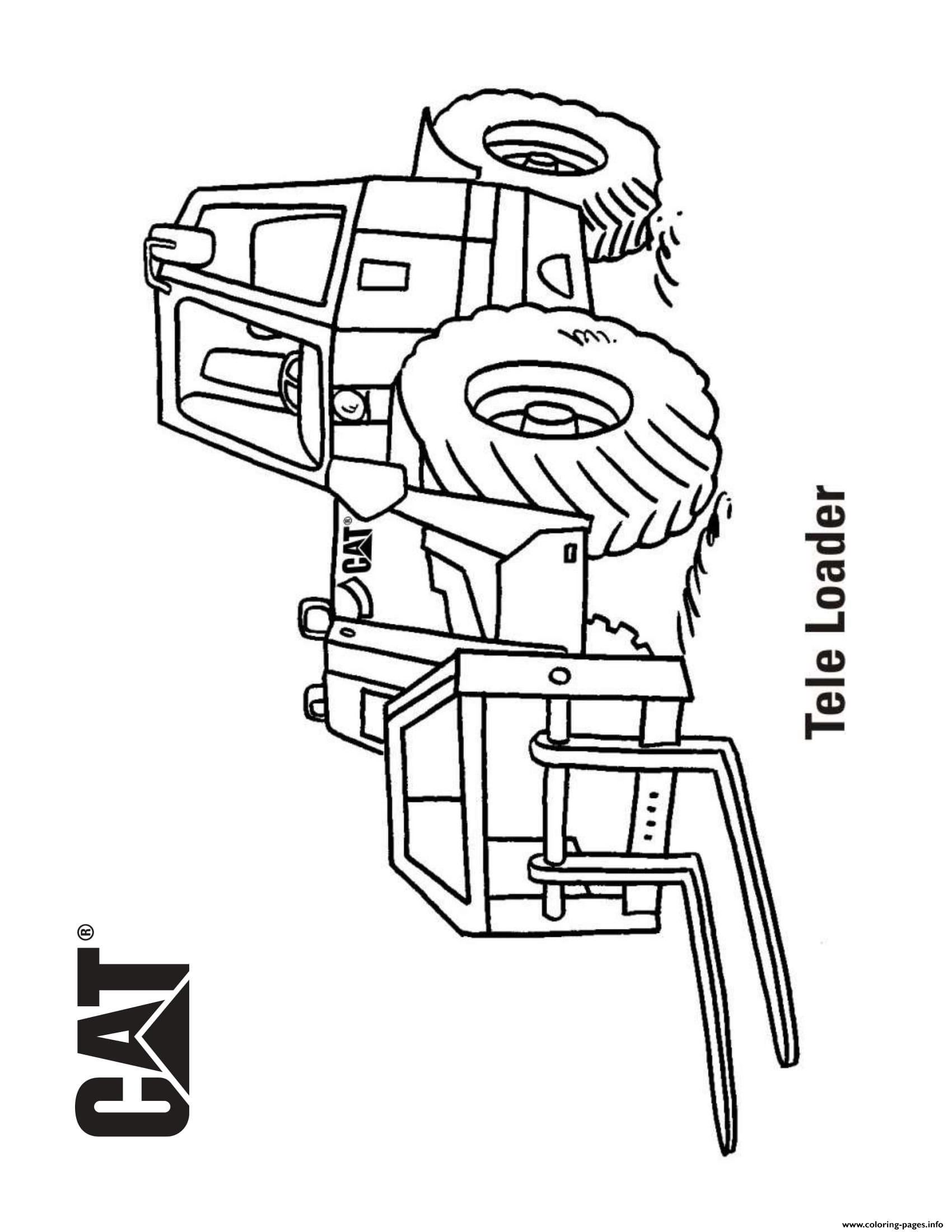 coloring book truck pages - photo#46