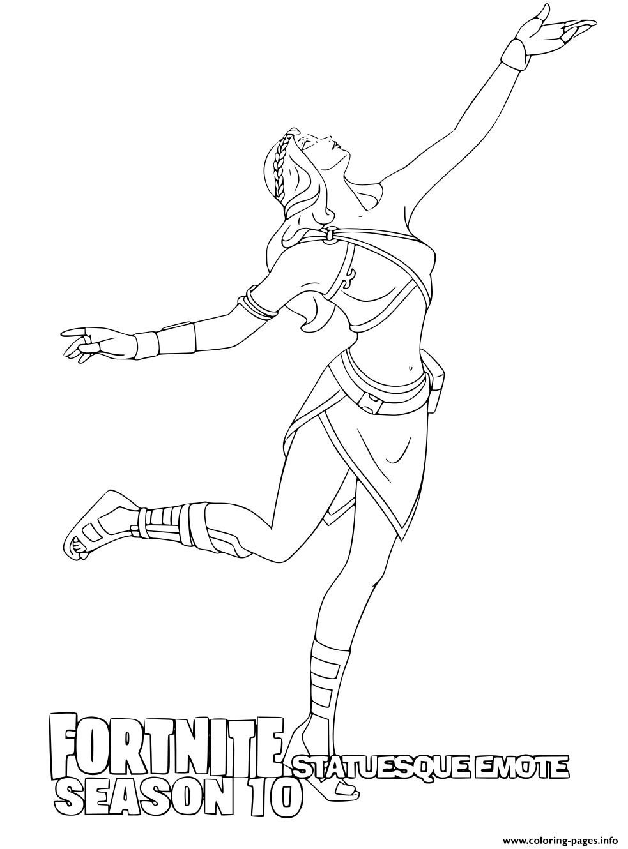 Stoneheart Fortnite Season 10 Coloring Pages Printable