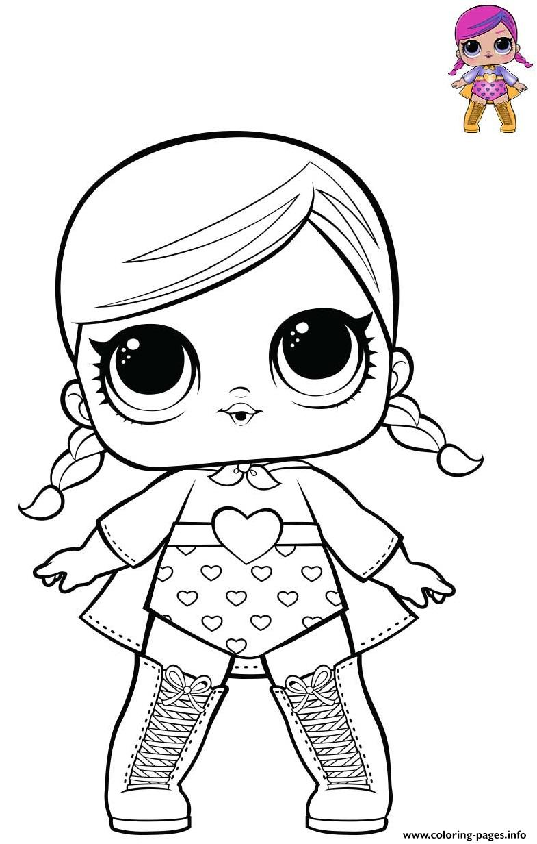 Super B B Is A Fancy Girl From Series 1 Theater Club Coloring Pages Printable