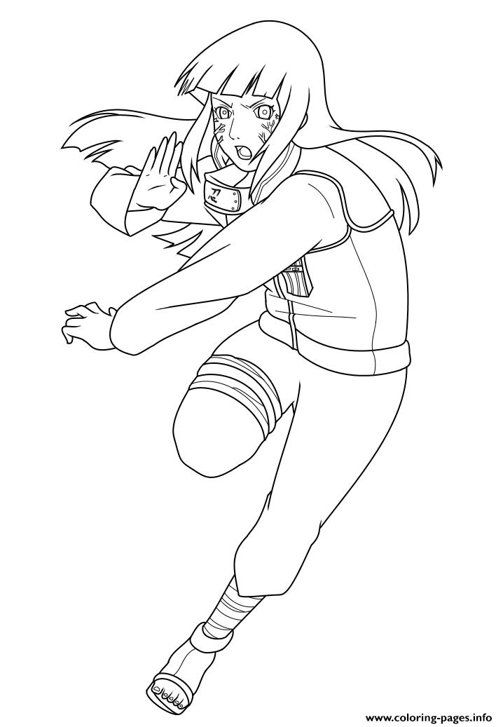 Hinata Uzumaki Kunoichi And The Former Heiress Of The