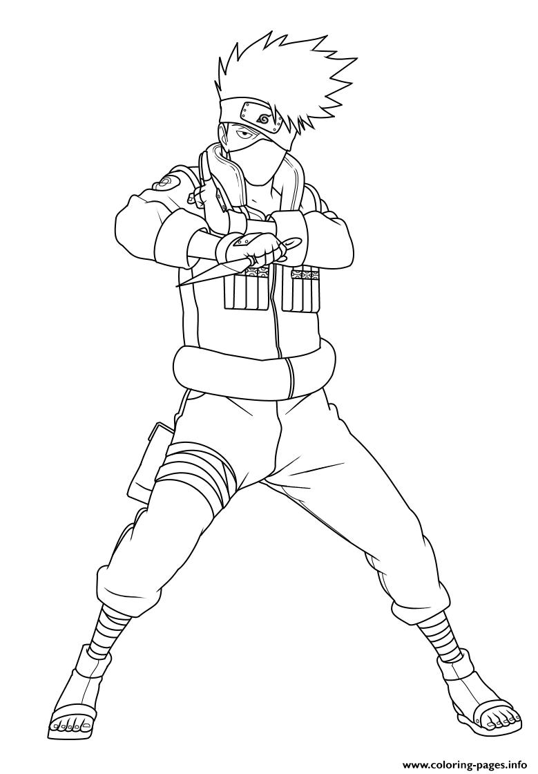 Hatake Kakashi Is A Shinobi Of Konohagakures Hatake Clan