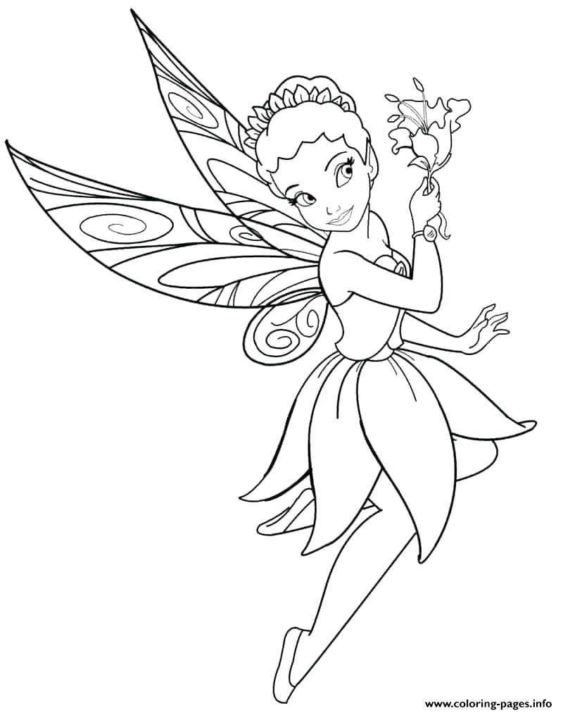 Disney Fairy Girls coloring pages