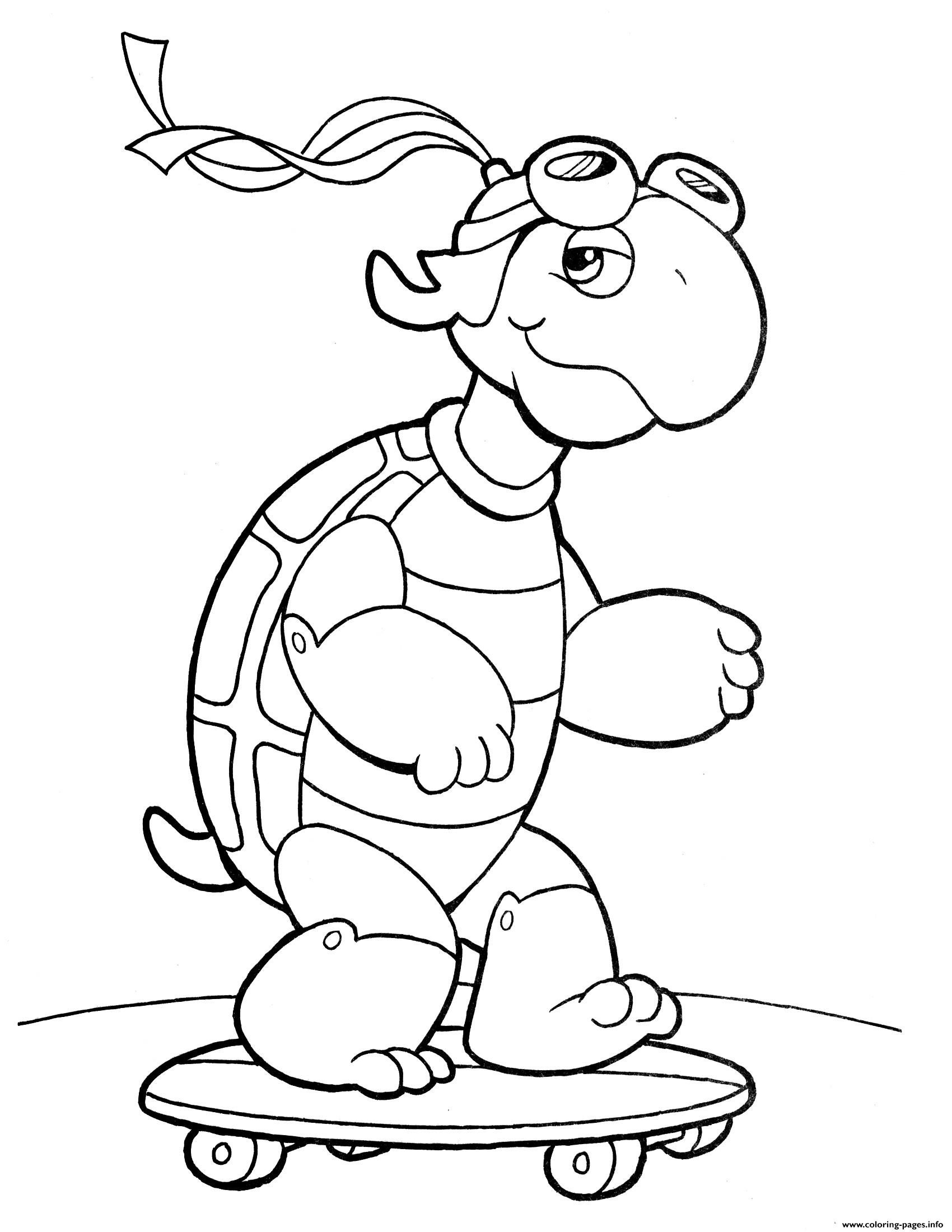 - Crayola Turtle Coloring Pages Printable