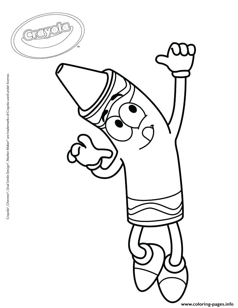 Crayola Best Known For Its Crayons Coloring Pages Printable