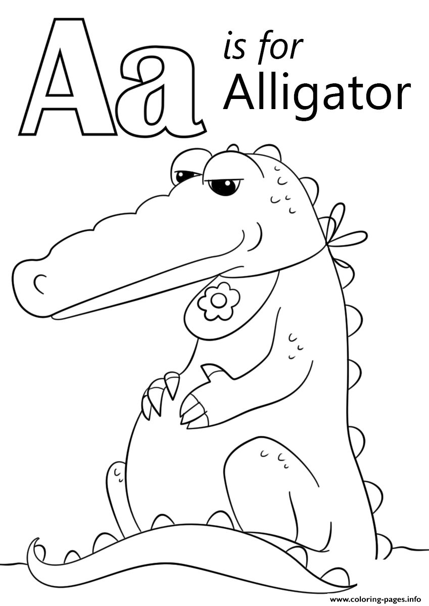 Alligator Coloring Page by YUCKLES! | 1200x849