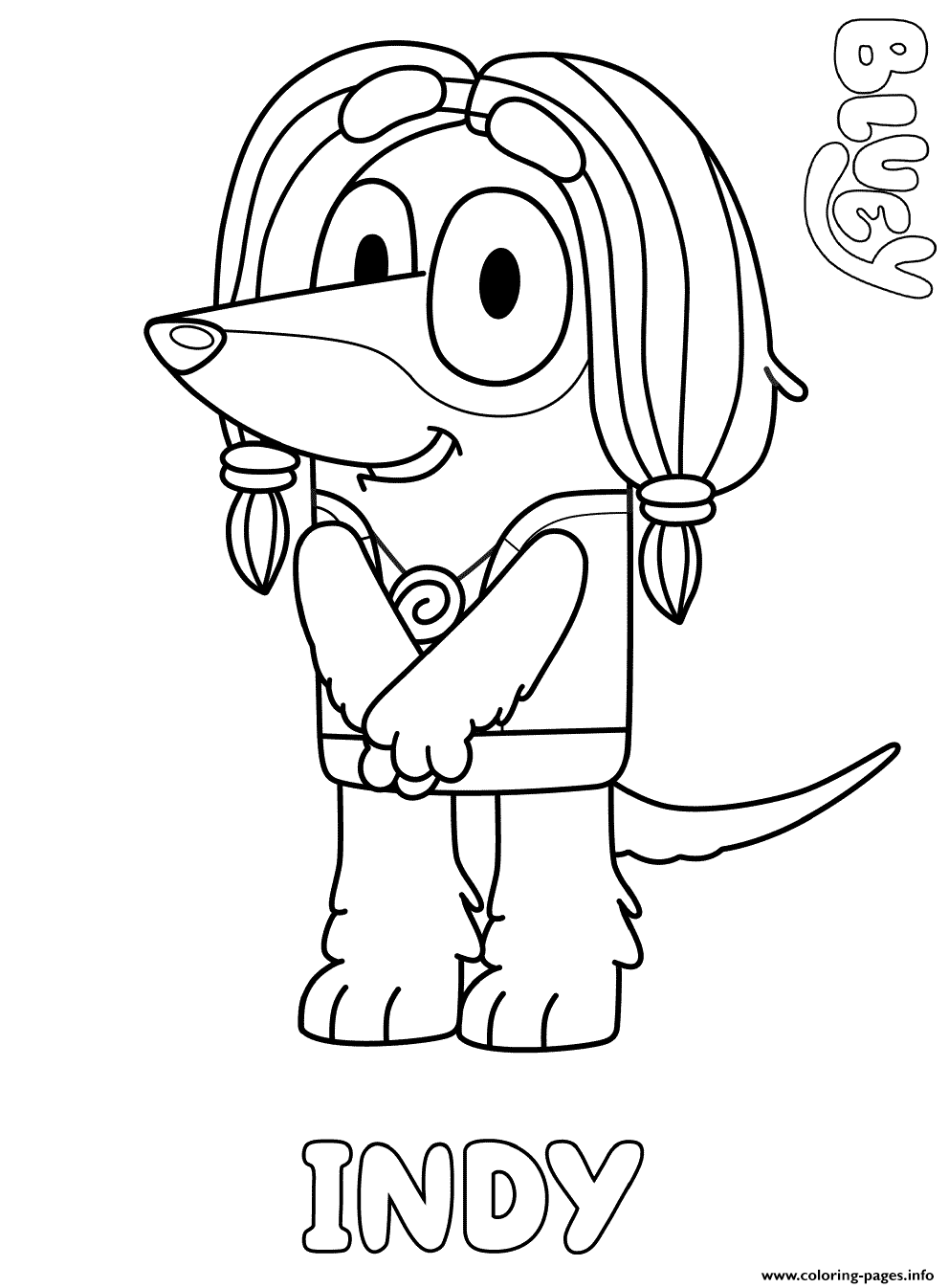 Afghan Hound Indy Coloring Pages Printable