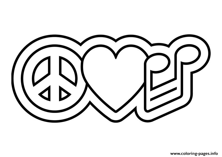 Simple and Attractive Free Printable Peace Sign Coloring Pages | Peace sign  art, Coloring pages, Free adult coloring pages | 595x842
