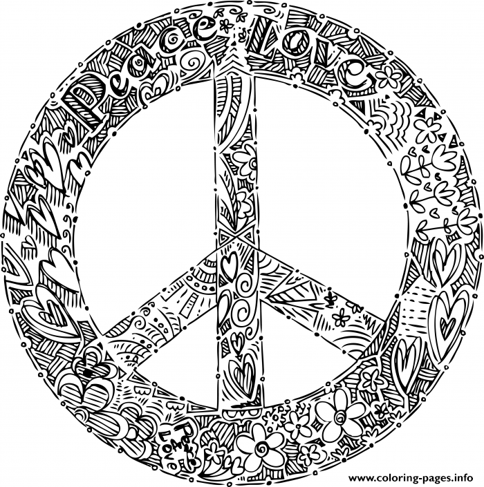 Free World Peace Coloring Pages, Download Free Clip Art, Free Clip ... | 705x700