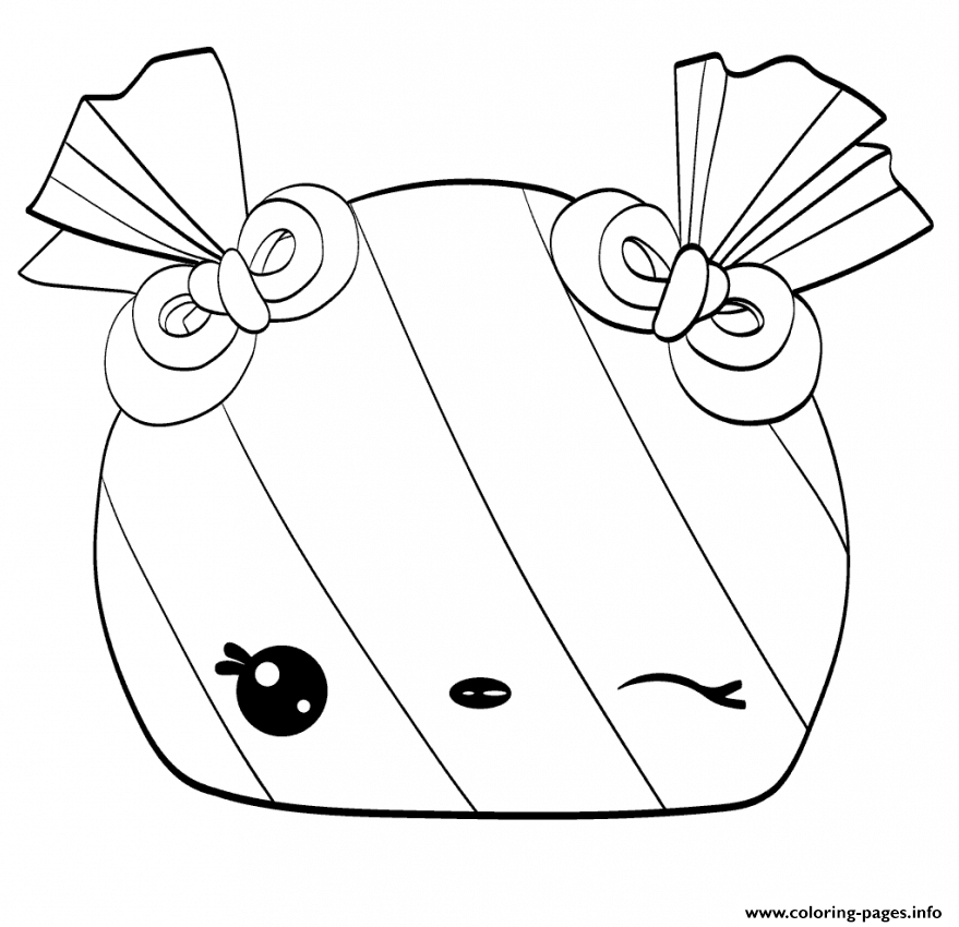 Chocolate Cute Num Coloring Pages Printable