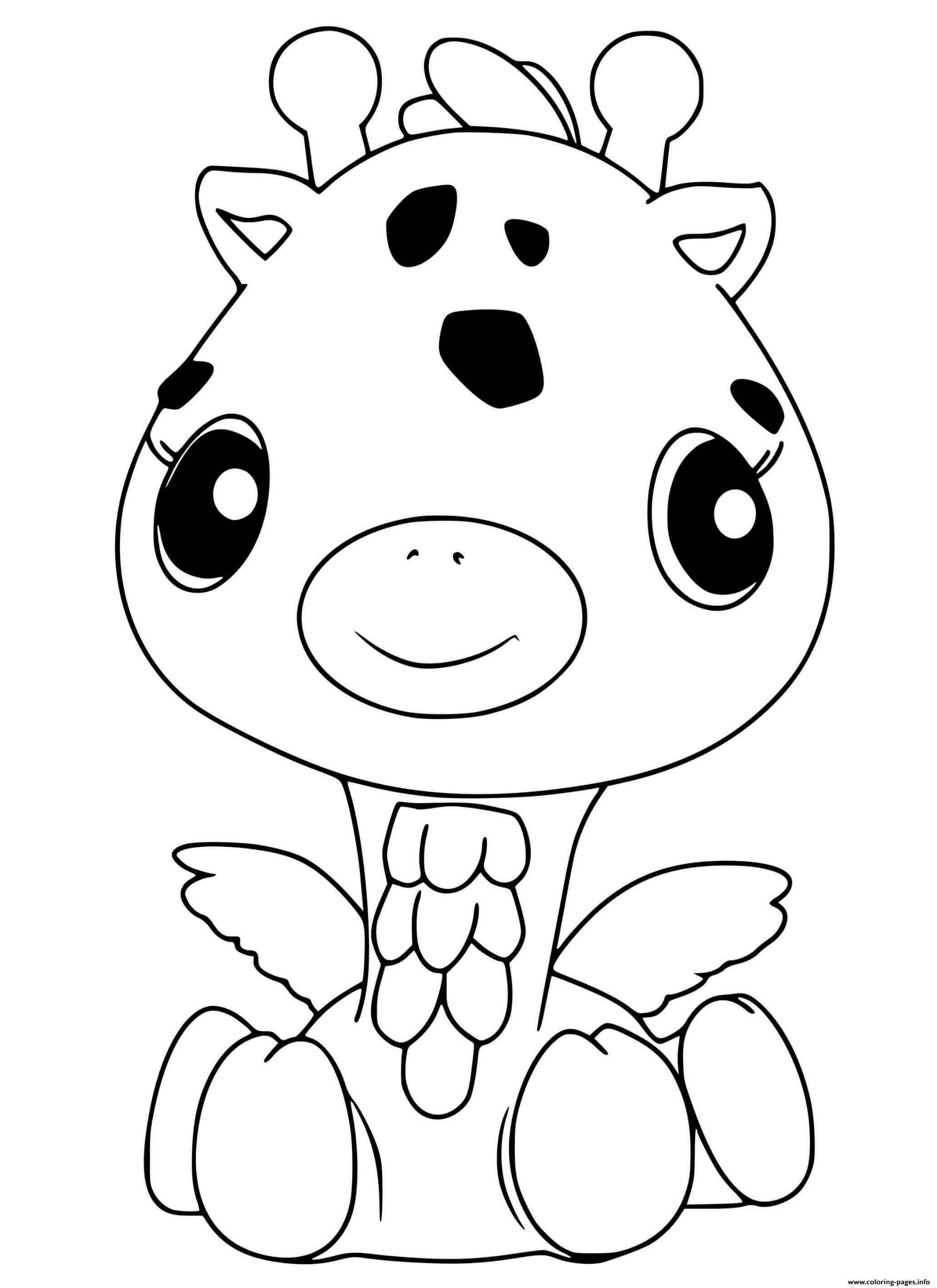 Hatchimals Girreo Coloring Pages Printable