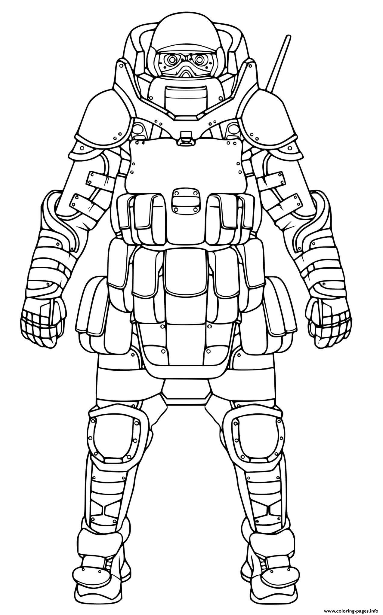 Call Of Duty Black Ops Cold War Coloring Pages Printable