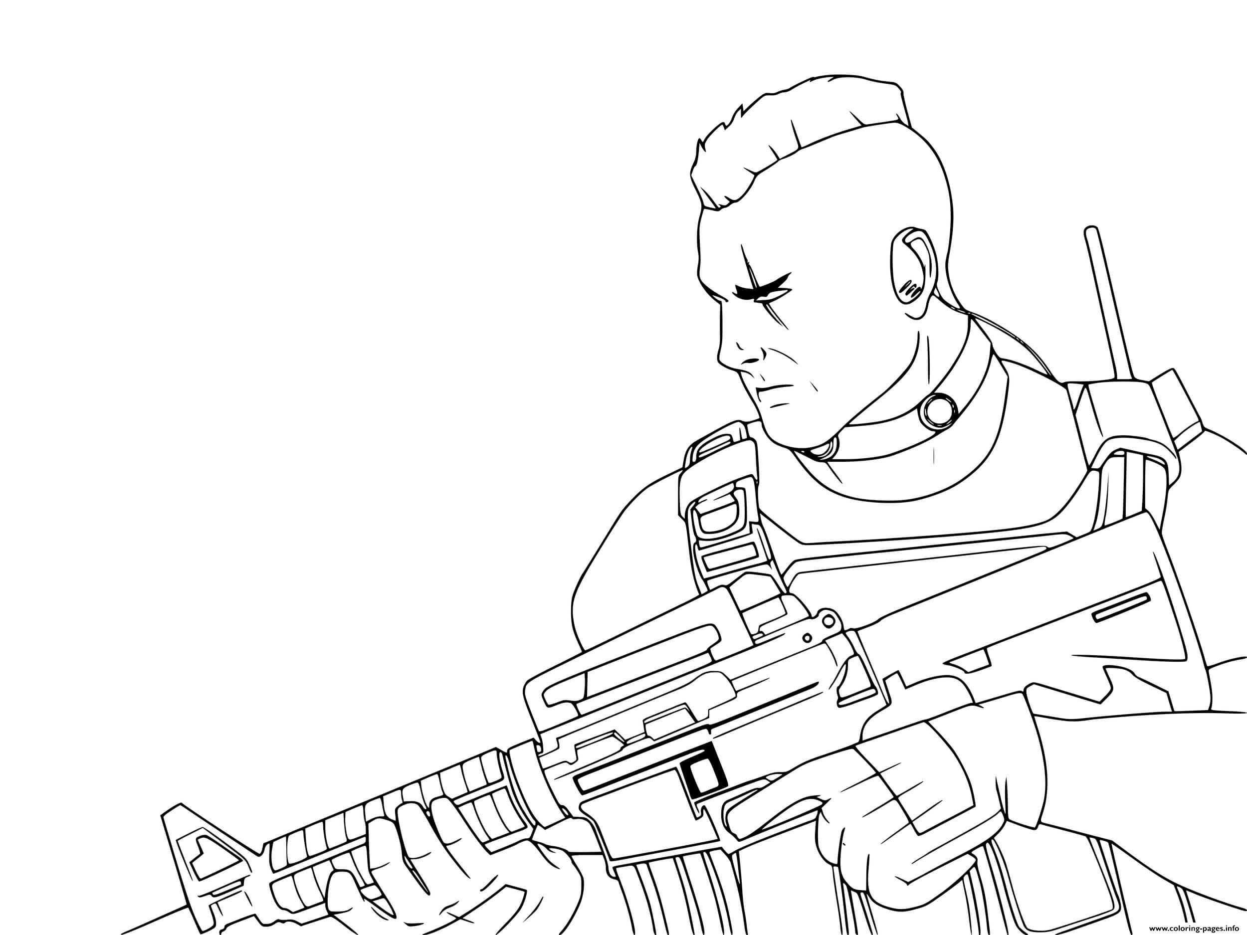 Call Of Duty Modern Warfare Coloring Pages Printable