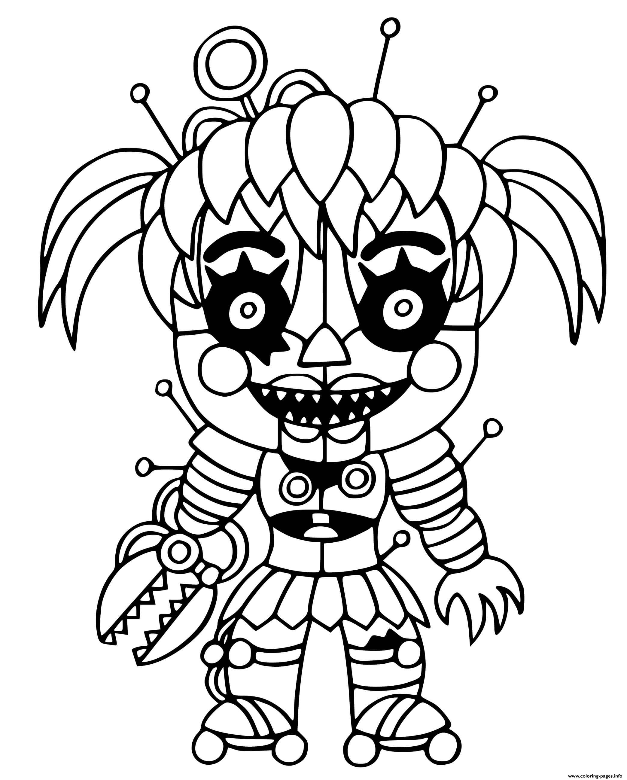 Scrap Baby coloring pages
