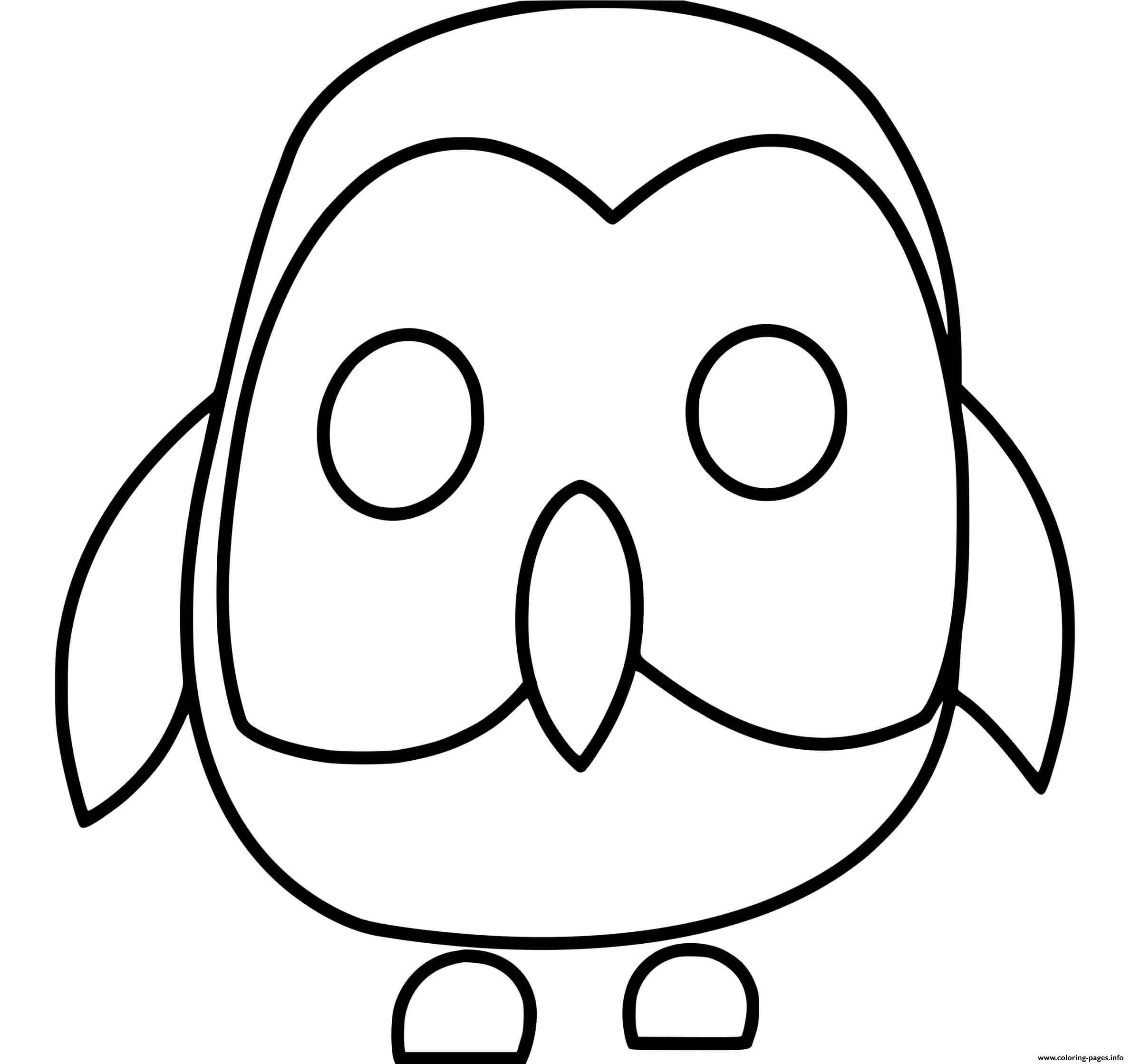 Roblox Adopt Me Owl Coloring Pages Printable