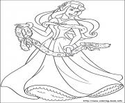 Printable princess christmas 07 coloring pages