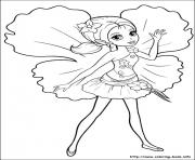 Print barbie thumbelina 20 coloring pages