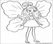 Print barbie thumbelina 19 coloring pages