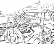 Print barbie thumbelina 26 coloring pages