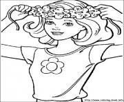 Print barbie4 coloring pages