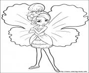Printable barbie thumbelina 21 coloring pages