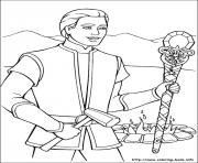 Barbie Princess 04 Coloring Pages Printable