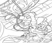 Print barbie musketeers 09 coloring pages