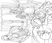 Print barbie musketeers 05 coloring pages
