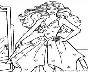 Printable barbie20 coloring pages