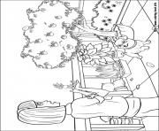 Printable barbie thumbelina 08 coloring pages