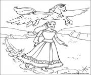 Printable barbie magic pegasus 16 coloring pages