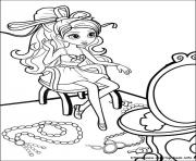 Print barbie thumbelina 27 coloring pages