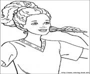 Print barbie6 coloring pages