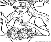 Printable barbie3 coloring pages