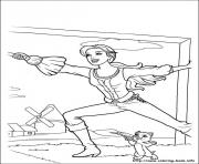 Printable barbie musketeers 17 coloring pages