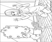 Print barbie thumbelina 17 coloring pages