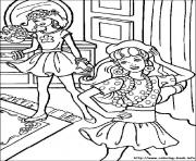 Print barbie10 coloring pages