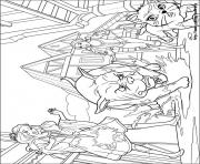 barbie musketeers 03 coloring pages