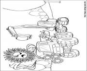 Print barbie thumbelina 11 coloring pages